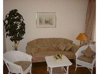 Nordseeinsel Ferienwohnung Sylt Wenningstedt Wohnzimmer