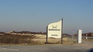 Sansibar Sylt Hinweisschild am Parkplatz